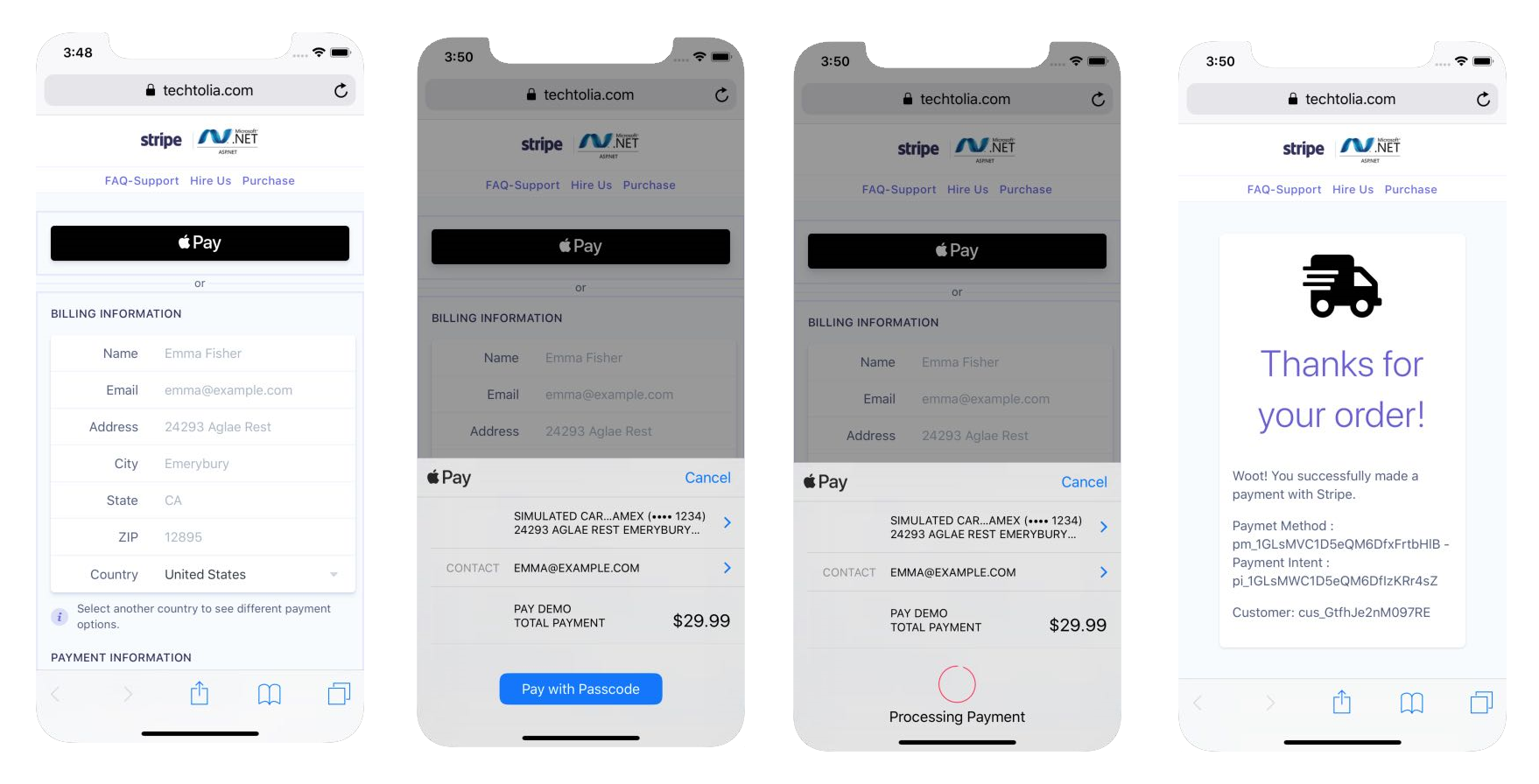 Apple Pay - Payment Request Button